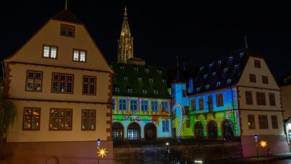 Videomapping Strasbourg, musée historique